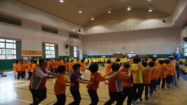 2015년 주민자치센터프로그램발표회 및 동민체육대회